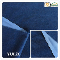 brushed polyester micro twill fabric for garment weave fabric