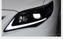 Led headlamp manufacturer auto car lights accessories for toyota corolla projector headlight