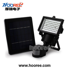 Hooree Company Hot Products Solar PIR Light / Solar Motion Sensor Light With 60LED