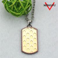 2015 chinese manufacturer fake 24k gold necklace