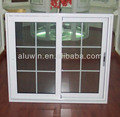 alumínio janela deslizante com tela de mosquito