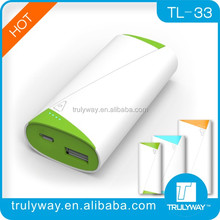 trulyway TL-33 5200mAh USB battery charge for smart phone and digital devices-optional colors
