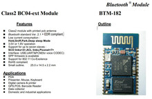 Bluetooth Class 2 BC04 module for Wireless keyboard or Wireless mouse ,Industrial applications