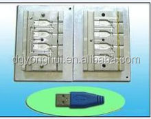 Special design USB shell plastic injection mould china mould making