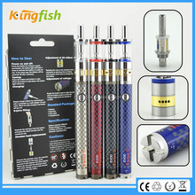 New variable voltage ecig 1.5ohm atomizer evod twist 3 m16 atomizer exgo w3 for china wholesale