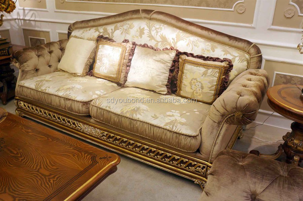 0062 Italy Design Royal Neo Classic Living Room Furniture Wooden Fabric Sofa Set Buy Antique