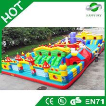 Brand New Design inflatable fun city,inflatable combo,used inflatable amusement park