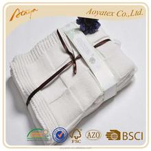 100% cotton organic cotton baby blanket