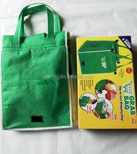 grab bag clip to cart shopping bag