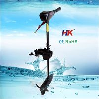 High performance electric outboard motor for fishing