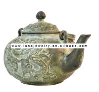 Brass dragon and Phenix Pot