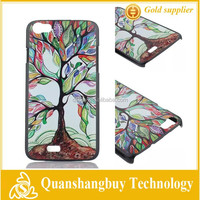 On sale cheapest Fashion Personality Lucky tree pattern hard back cover case for wiko lenny 10 Styles Support mixed order