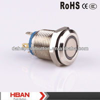 CE ROHS miniature push button switch