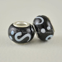 AC059 Wholesale Round Glass Design Bracelet Bead Landing Made In China