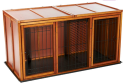 Luxurious heavy duty large dog animal cage with top quality