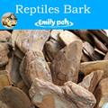 Pinheiro de casca de árvore para répteis cama, casca de cama para animais de estimação