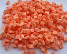 FD freeze dried carrot dice