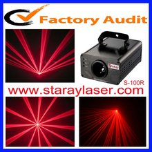 amazing single red Stage Laser Light laser beam show