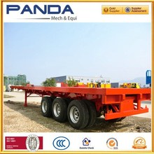 2015 Pandamech brand factory new flatbed container air airbag air bag semi-trailer with competitive price +13245404900