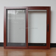 good quality aluminum sliding window with mosquito screen