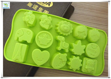 15 different sun shapes silicone cake mold chocolate Fondant tools party decoration bakeware cupcake baking molds