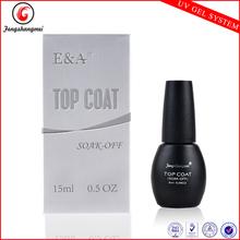 Gel top coat for natural nails gel top coat gel nail polish 8 ml