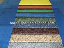 Laminate flooring rubber