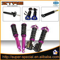 Adjustable coilover suspension kit for racing cars