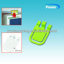 Paper Clip,plastic paper display holder,paper clip memo holder YC329