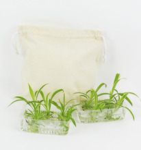 Wholesale Promotional Shopping Drawstring Cotton Packing Bag