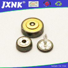 leather jacket 15mm brass snap buttons garments accessories