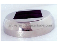 stainless steel glass spigot square cover plate
