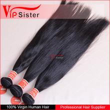 Grade 8A complete cuticle healthy raw hair 3pcs brazilian virgin hair straight human hair extension