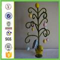 fábrica chinesa artesanal personalizado resina esculpida ovo de páscoa enfeites de árvore
