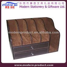 foldable desk organizer box with photo frame