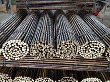 Black cheap Roll bamboo fence 25-28mm