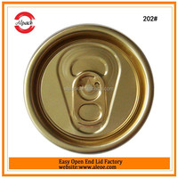 202SOT 52mm beverage easy open end for beverage container PET can