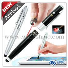 laser led light stylus pen and pen drive with 2014 Hot selling product