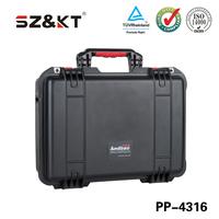 Portable handle plastic tool case