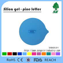 Steamship Shape and FDA/LFGB Approved food grade flexiable silicone suction lids silicone cover pot lid/food cover silicone lid