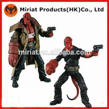 plástico de alta calidad hellboy figuras de acción