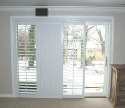 White discount louver window frames