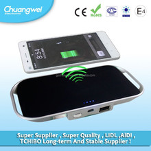 rechargeable mobile phone battery wireless mobile charger with polymer battery