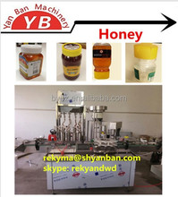 YB-JG4 Automatic Bottle Honey Filling Machine, filling and capping machine / 0086-13916983251