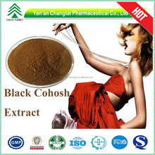 High quality 2.5% Triterpene Natural Powdered Black Cohosh Extract