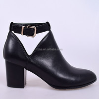 New ladies crystals leather strap buckle ankle wellies high heel rbber latex boots