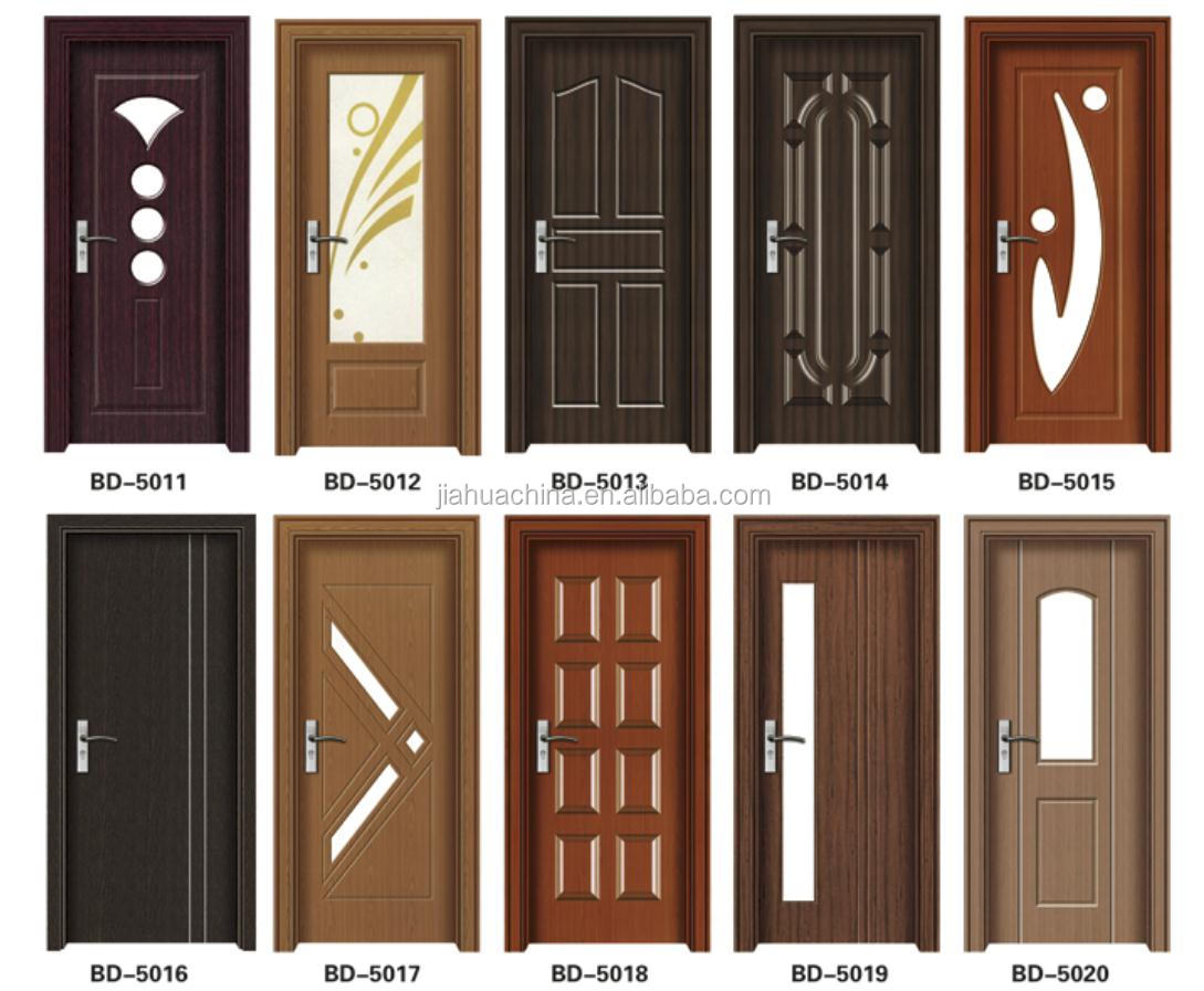 China supplier solid wooden door modern solid wooden for Latest main door