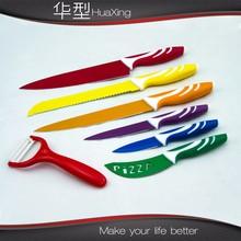 5pcs swiss color kitchen knife set