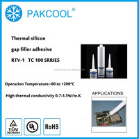 room temperature cure thermal conductivity elastic caulk One-component adhesive TP 200 series