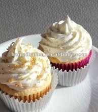 Bulk Matte Silver Cupcake Liners Baking Cups